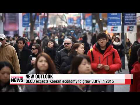 OECD trims 2015 growth outlook for Korea to 3.8%   OECD 한국경제 내년 3.8% 성장 전망