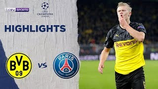 Borussia Dortmund 2-1 PSG | Champions League 19/20 Match Highlights