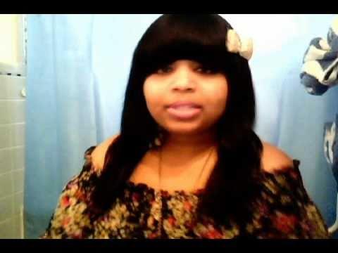 Nicki Minaj Inspired : Full Quickweave w/ Front Layered Bangs Tutorial.