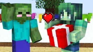 Monster School : GIRLS VS BOYS CHRISTMAS CHALLENGE - Minecraft Animation