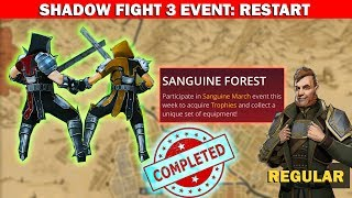 Shadow Fight 3 Official Event SANGUINE FOREST! REGULAR || Defeat Mother Deaths √