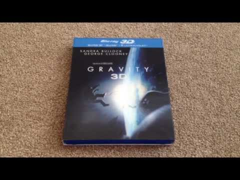 Gravity 3D Blu-ray unboxing
