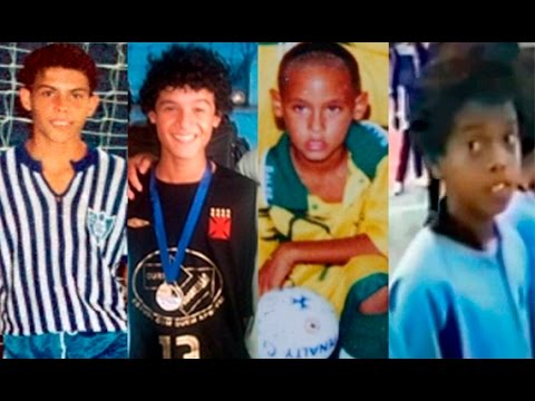 Brazilian Legends ● Born in Futsal ● Ronaldinho ● Neymar ● Ronaldo ● Robinho ● Coutinho
