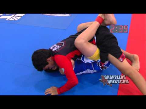 Kevin Fuentes vs Jean-Paul LeBosnoyani at Grapplers Quest Fl. State Championships 2012