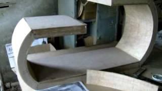 Marcenaria - 1a. Parte - Mesa de Centro Formato de G