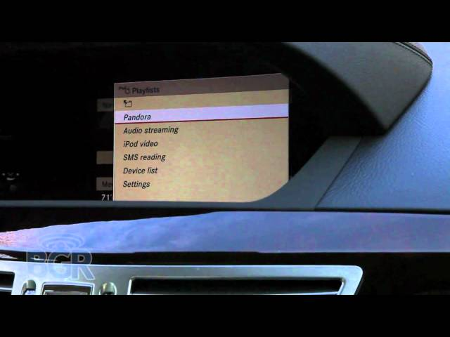 Mercedes Media Interface Plus Review - YouTube