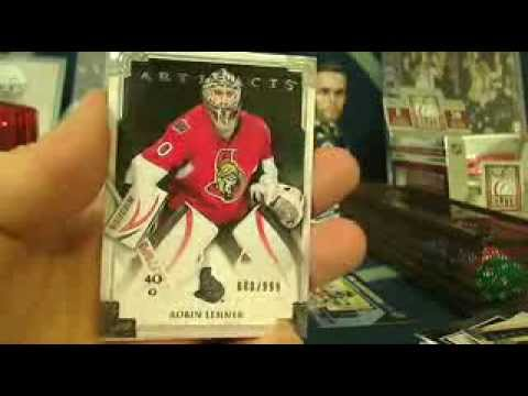 13/14 Artifacts Box Break + MEGA Prize Draft including Lemieux 8x10, Eberle signed puck and MORE!
