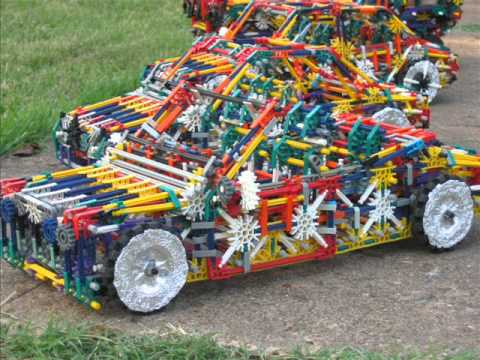 K'nex Cars...past, present & future.. (previously recorded in 2005)