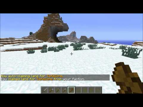 How to make a safezone on minecraft server!
