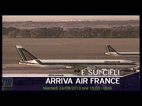 TG3 24-09-2013 19:00 parte 1. Alitalia, sui nostri cieli arriva AirFrance