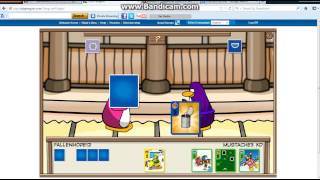 Club penguin Lets waddle around : Courtyard Dojo