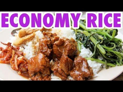 Malaysian Economy Rice - Street Chinese Food