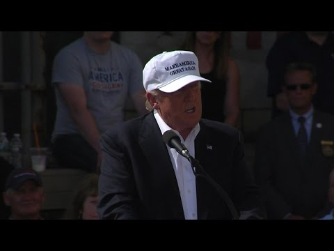 Full video: Donald Trump event in Manchester, NH