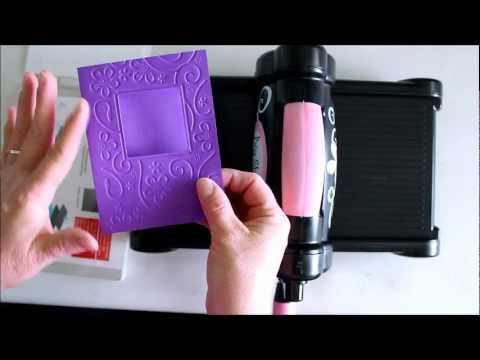 How to Use Cuttlebug Embossing Plus Folders in Sizzix Big Shot