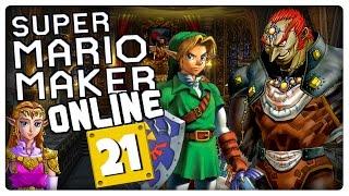 SUPER MARIO MAKER ONLINE Part 21: Ganons Schloss aus Ocarina of Time