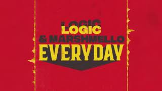 Download Song Marshmello & Logic - EVERYDAY (Audio) Free StafaMp3