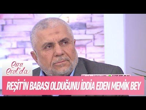 Reşit'in babası olduğunu iddia eden Memik Bey stüdyomuzda! - Esra Erol'da 4 Aralık 2017