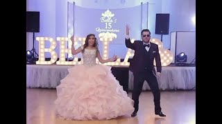 Best Quinceañera XV Father Daughter Surprise Dance 2018