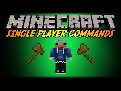 Minecraft 1.7.5 - How to install single player commands