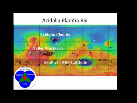 Recurring Slope Lineae: Shallow subsurface flowing water on Mars - David Stillman (SETI Talks)
