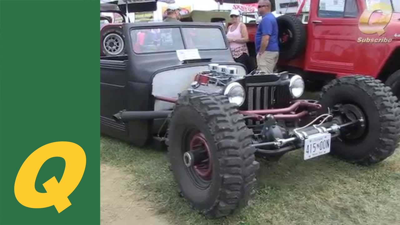 Rat Rod Jeep 2014 All Breeds Jeep Show York Pa Youtube