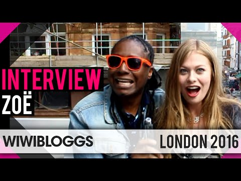 Zoë Austria 2016 at London Eurovision Party - Interview | wiwibloggs