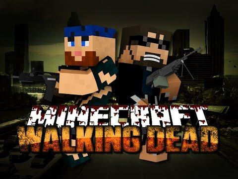 Minecraft Walking Dead Mod 1 - THE BEGINNING OF THE END(Walking Dead Series)