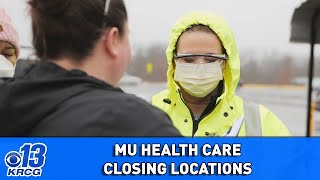 MU Health Care, Capital Region close Quick Cares