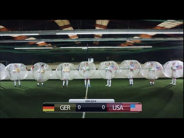 Fussball Weltmeisterschaft 2014 3 Loopyball WM Orakel GER USA