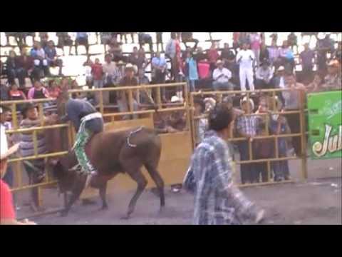 JARIPEO RANCHO LA MISION VS GUERREROS DE OAXACA, MARROQUIN,GTO.2012