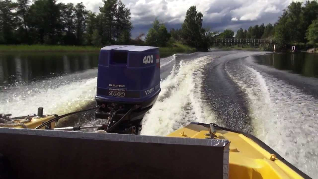 Volvo Penta 400 Outboard engine YouTube