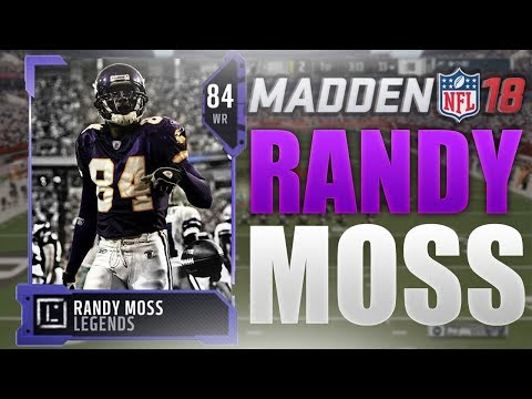 HOW TO GET RANDY MOSS DAY 1 OF MADDEN 18 ULTIMATE TEAM   Madden 18 GOAT Player Overview