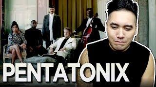 Pentatonix - Perfect (Ed Sheeran Cover) REACTION!!! #PTXPerfect