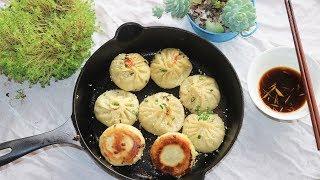 BETTER THAN TAKE OUT- Soup Dumplings (Pan Fried) 生煎包