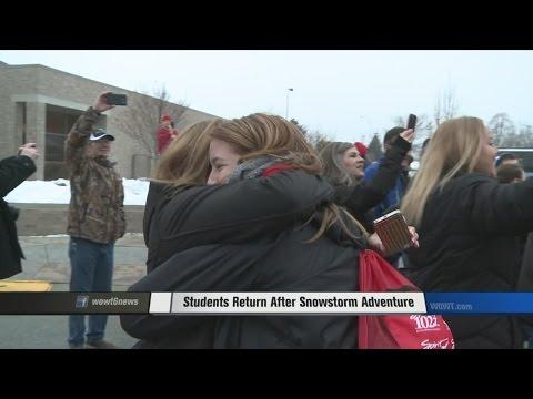 Students Return After Snowstorm Adventure
