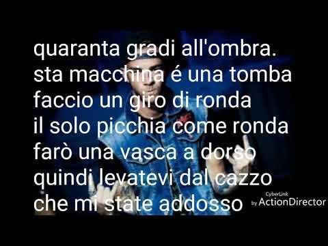 SALMO-ESTATE DI MERDA (testo)