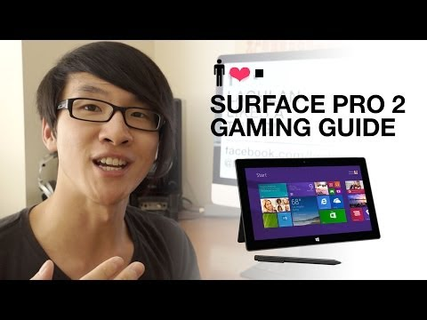 Surface Pro 2 Gaming Guide