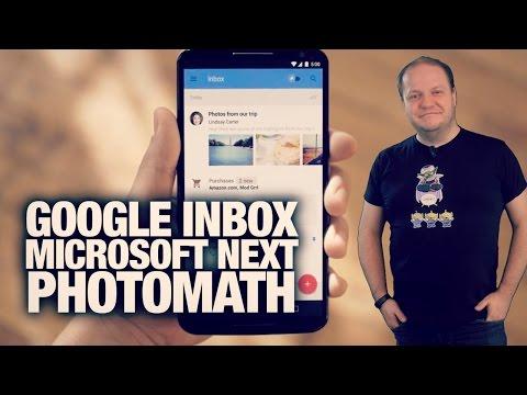 #freshnews 743 Google Inbox. Microsoft Next Launcher. PhotoMath