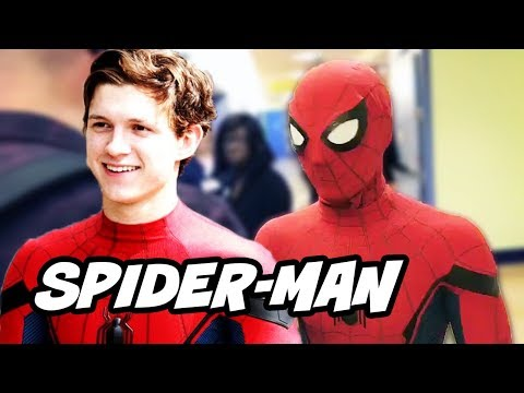 Spider Man Homecoming Funny Batman Surprise