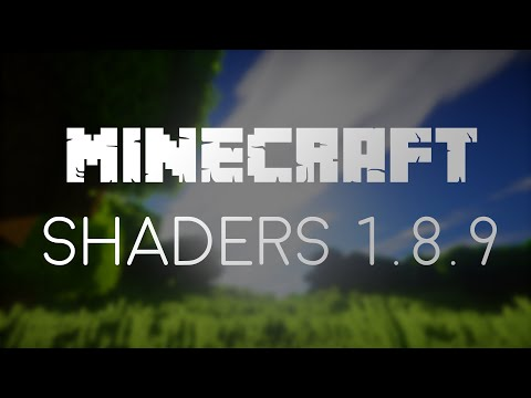 Minecraft - Install Shaders for 1.8.9 with OptiFine