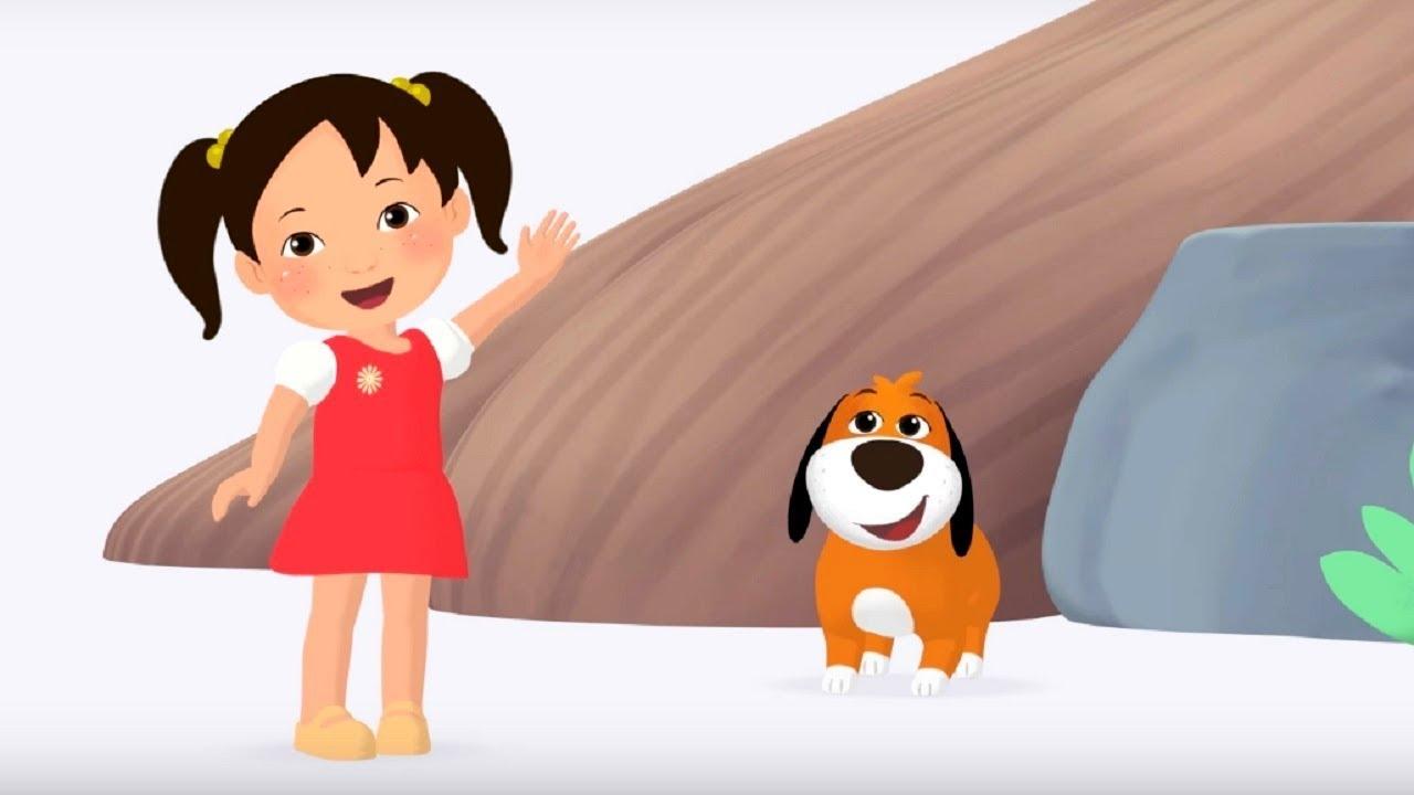 Английский язык для малышей - Мяу-Мяу - До свидания, Бип-Бип Goodbye Beepbeep) -  английские слова