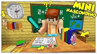 MINI NASCONDINO A SCUOLA DA PICCOLISSIMI! - Minecraft ITA
