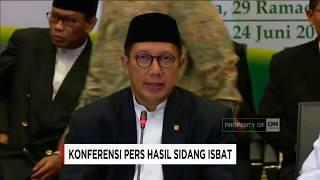 Sah! Lebaran Besok - Sidang Isbat 1 Syawal 1438 H, Idul Fitri 2017