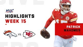 Snowstorm Can't Stop Mahomes! | NFL 2019 Highlights