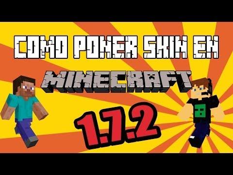 Como poner skin en Minecraft de la