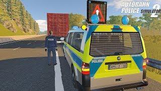 Autobahn Police Simulator 2 - Police Van Responding! Gameplay 4K
