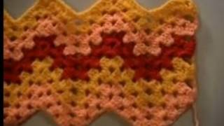 Crochet Granny Ripple Part 1 of 4