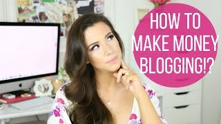 How I Make Money Blogging! | hayleypaige