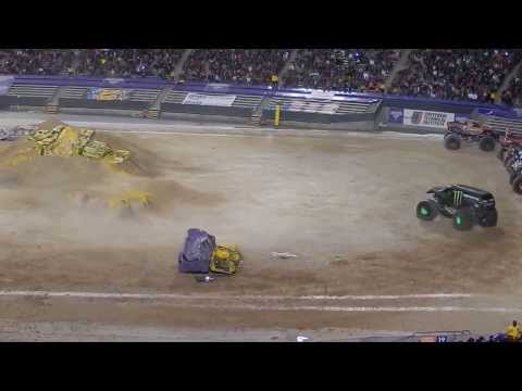 Monster Freestyle - MONSTER JAM -  MARCH 1 2014 - El Paso, TEXAS