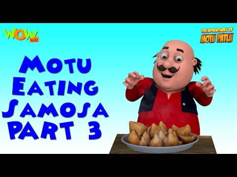 Motu And His Samosas - Motu Patlu Compilation - Part 3 - 50 Minutes of Fun! As seen on Nickelodeon
